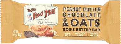 BOBS RED MILL: Bar Oat Peanut Butter Chocolate, 1.76 oz - Vending Business Solutions