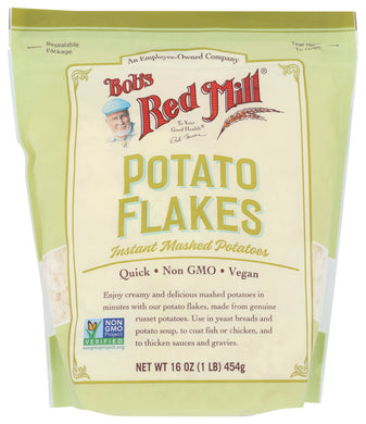 BOB'S RED MILL: Potato Flakes Instant Mashed Potatoes, 16 oz - Vending Business Solutions