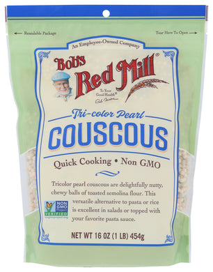 BOB'S RED MILL: Tri-Color Pearl Couscous, 16 oz - Vending Business Solutions