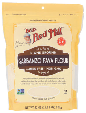 BOB'S RED MILL: Gluten Free Garbanzo Fava Flour, 22 oz - Vending Business Solutions