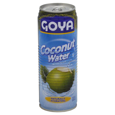 GOYA: Coconut Water with Pulp, 17.6 oz - Vending Business Solutions