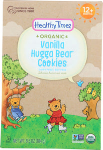 HEALTHY TIMES: Hugga Bear Vanilla Cookie, 6.5 oz - Vending Business Solutions