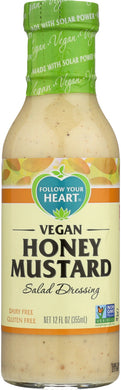 FOLLOW YOUR HEART: Vegan Honey Mustard Salad Dressing, 12 oz - Vending Business Solutions