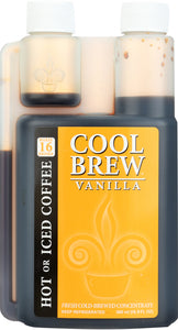 COOLBREW: Fresh Cold-Brewed Concentrate Vanilla, 500 ml - Vending Business Solutions