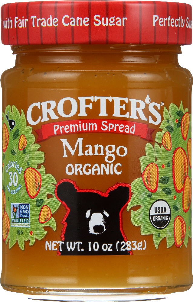 CROFTERS: Organic Mango Spread, 10 oz - Vending Business Solutions