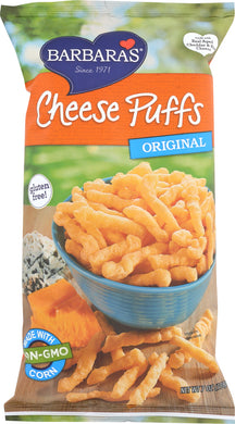 BARBARA'S BAKERY: Cheese Puffs Original, 7 oz - Vending Business Solutions