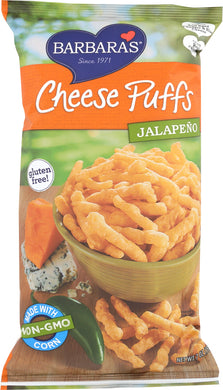 BARBARA'S BAKERY: Cheese Puffs Jalapeno, 7 oz - Vending Business Solutions
