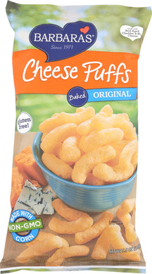 BARBARA'S BAKERY: Baked Cheese Puffs Original, 5.5 oz - Vending Business Solutions