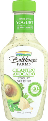 BOLTHOUSE FARMS: Cilantro Avocado Yogurt Dressing, 14 oz - Vending Business Solutions