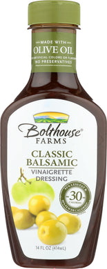 BOLTHOUSE FARMS: Classic Balsamic Vinaigrette Dressing, 14 oz - Vending Business Solutions