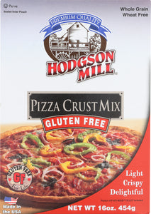HODGSON MILL: Gluten Free Pizza Crust Mix, 16 oz - Vending Business Solutions