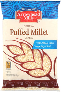ARROWHEAD MILLS: Puffed Millet Cereal, 6 oz - Vending Business Solutions