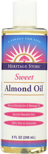 HERITAGE: Oil Sweet Almond, 8 oz - Vending Business Solutions