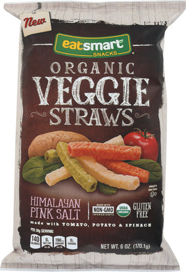 EATSMART: Organic Veggie Straws, 6 oz - Vending Business Solutions