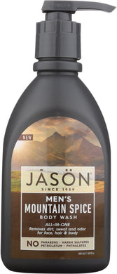 JASON: Wash Men All One Mountain Spice, 30 oz - Vending Business Solutions