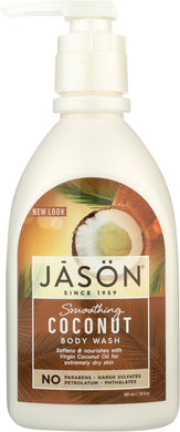 JASON: Body Wash Smoothing Coconut, 30 oz - Vending Business Solutions