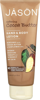 JASON: Hand & Body Lotion Softening Cocoa Butter, 8 oz - Vending Business Solutions