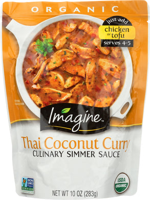 IMAGINE: Sauce Thai Coconut Curry Organic, 10 oz - Vending Business Solutions