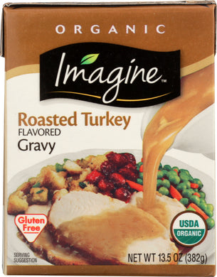IMAGINE: Foods Organic Roasted Turkey Flavored Gravy, 13.5 oz - Vending Business Solutions