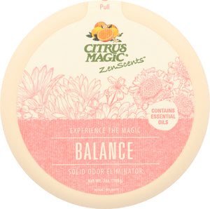 CITRUS MAGIC: ZenScents Aromatherapy Balance Air Freshener, 7 oz - Vending Business Solutions