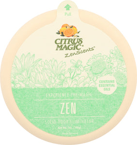 CITRUS MAGIC: Air Freshener Zen, 7 oz - Vending Business Solutions