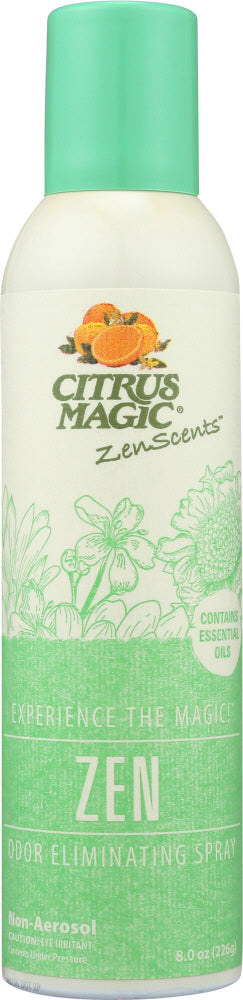 CITRUS MAGIC: Spray Zen Aromatherapy, 8 oz - Vending Business Solutions