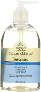 CLEARLY NATURAL: Unscented Glycerine Hand Soap Liquid, 12 oz - Vending Business Solutions