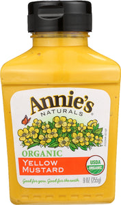 ANNIE'S NATURALS: Organic Yellow Mustard, 9 oz - Vending Business Solutions
