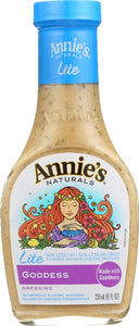 ANNIE'S NATURALS: Lite Goddess Dressing, 8 Oz - Vending Business Solutions