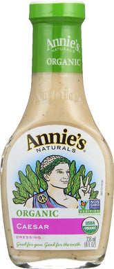ANNIE'S NATURALS: Organic Caesar Dressing, 8 oz - Vending Business Solutions