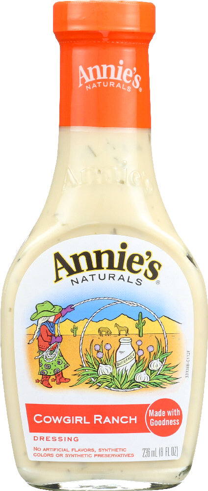 ANNIES HOMEGROWN: Cowgirl Ranch Dressing, 8 oz - Vending Business Solutions
