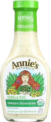 ANNIE'S NATURALS: Organic Green Goddess Dressing, 8 oz - Vending Business Solutions