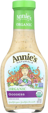 ANNIE'S NATURALS: Organic Dressing Goddess, 8 oz - Vending Business Solutions