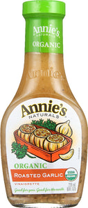 ANNIE'S NATURALS: Organic Dressing Roasted Garlic Vinaigrette, 8 oz - Vending Business Solutions