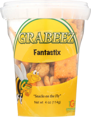 GRABEEZ SNACK CUPS: Snack Cup Fantastix, 4 oz - Vending Business Solutions