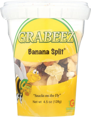 GRABEEZ SNACK CUPS: Banana Split Snack Cup, 4.5 oz - Vending Business Solutions