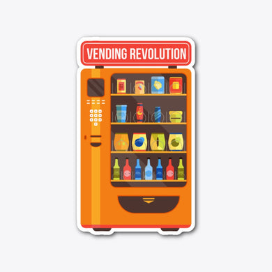 Vending Revolution Sticker!