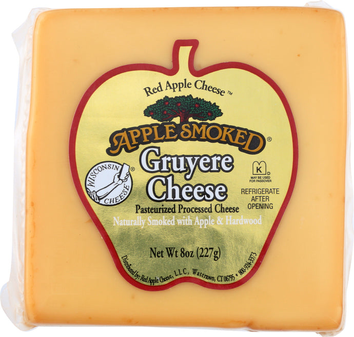 APPLE SMOKED: Gruyere Cheese, 8 Oz - Vending Business Solutions