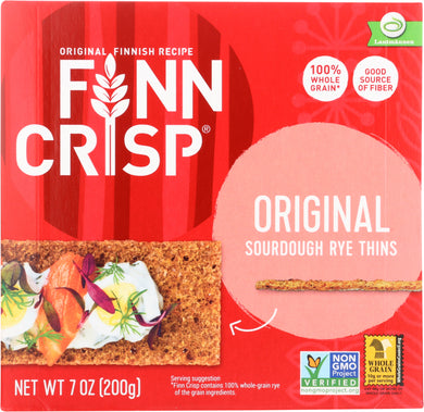 FINN CRISP: Original Crispbread, 7 oz - Vending Business Solutions