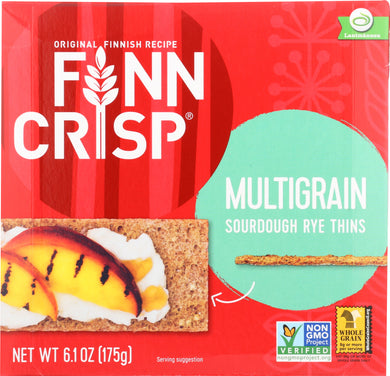 FINN CRISP: Multigrain Crispbread, 6.1 oz - Vending Business Solutions