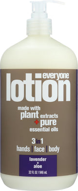 EO PRODUCTS: Everyone Lotion 3-in-1 Lavender + Aloe, 32 oz - Vending Business Solutions