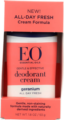 EO: Geranium Deodorant Cream, 1.8 oz - Vending Business Solutions
