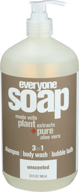 EVERYONE: Soap Liquid Everyone Unscented, 32 oz - Vending Business Solutions