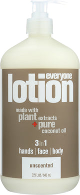 EVERYONE: 3-in-1 Unscented Lotion, 32 oz - Vending Business Solutions