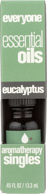 EVERYONE: Aromatherapy Singles Essential Oil Eucalyptus, 0.45 oz - Vending Business Solutions