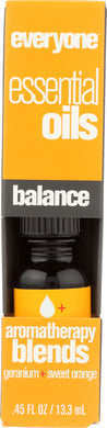 EVERYONE: Aromatherapy Blend Pure Essential Oil Balance, 0.45 oz - Vending Business Solutions