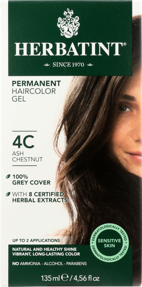 HERBATINT: Hair Color 4C Ash Chestnut, 4.56 oz - Vending Business Solutions