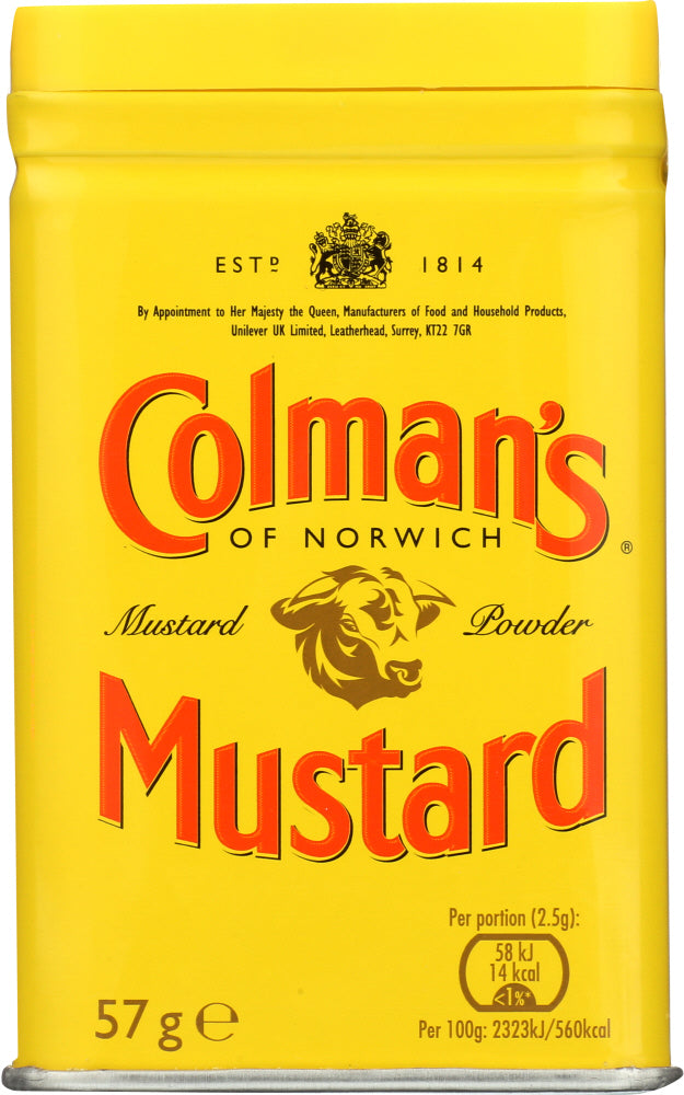 COLMANS: Mustard Double Superfine Powder, 2 oz - Vending Business Solutions