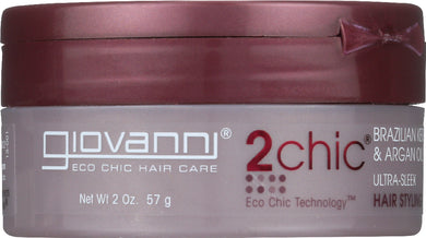 GIOVANNI COSMETICS: 2Chic Styling Wax, 2oz - Vending Business Solutions