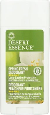 DESERT ESSENCE: Deodorant Spring Fresh, 2.5 fl oz - Vending Business Solutions